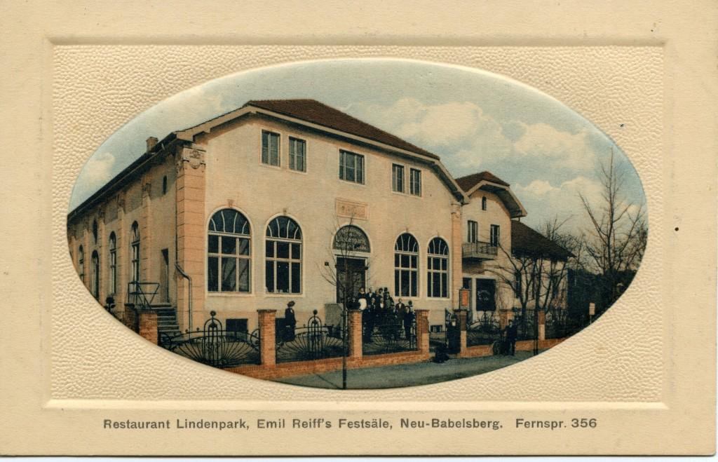 Lindenpark 1910